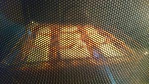 ラザニエッテ オーブン加熱中