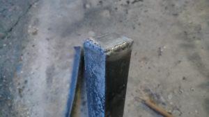 焚火台 足底溶接2