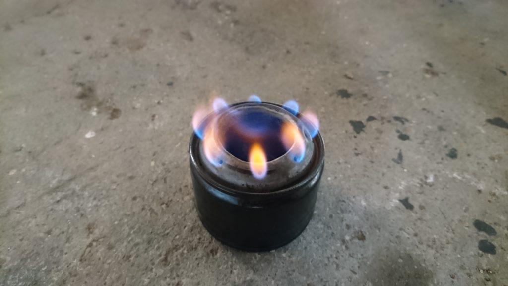 スプレー缶でアルコールストーブ作ってみた。part3 完成