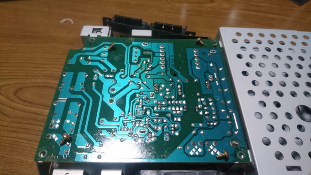 PS2(SCPH-30000)分解清掃とドライブの修理しました! 電源基板外す