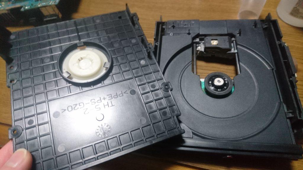 PS2(SCPH-30000)分解清掃とドライブの修理しました! ドライブ清掃 完了