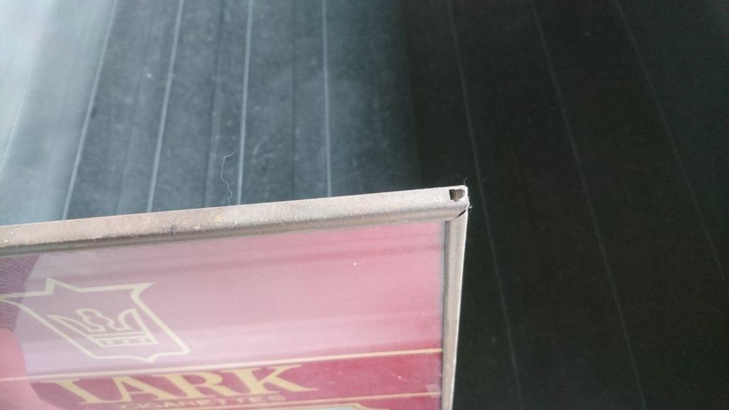 LARKの鏡をレストア 分解