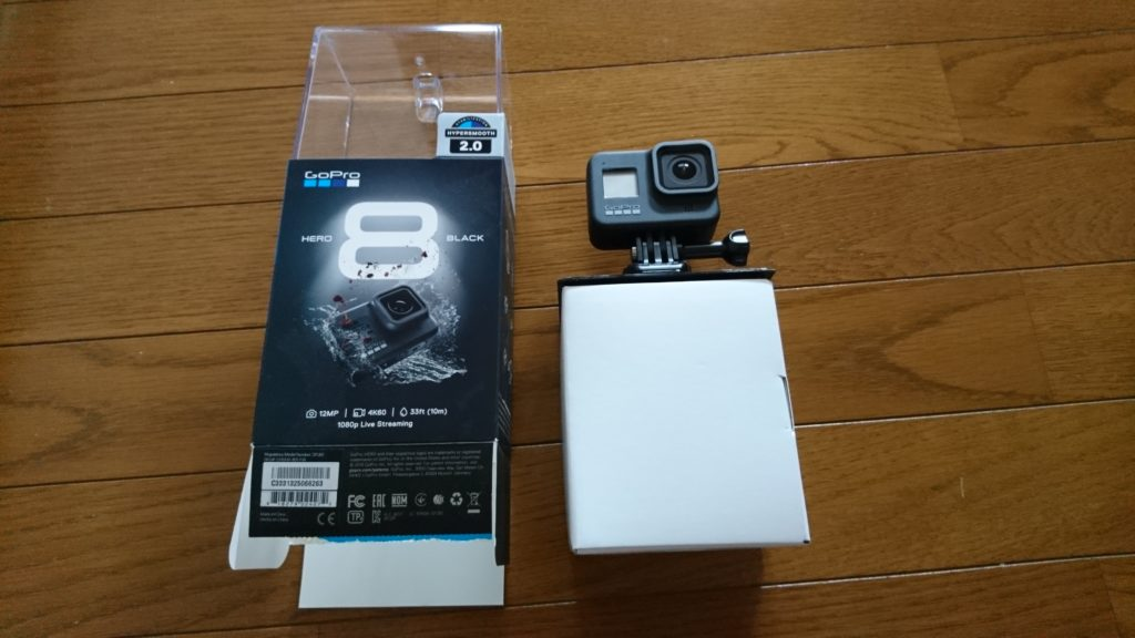 GoPro HERO8 Black (ゴープロ8)開封