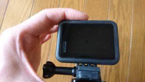 GoPro HERO8 Black (ゴープロ8)保護フィルム貼り付け後 裏