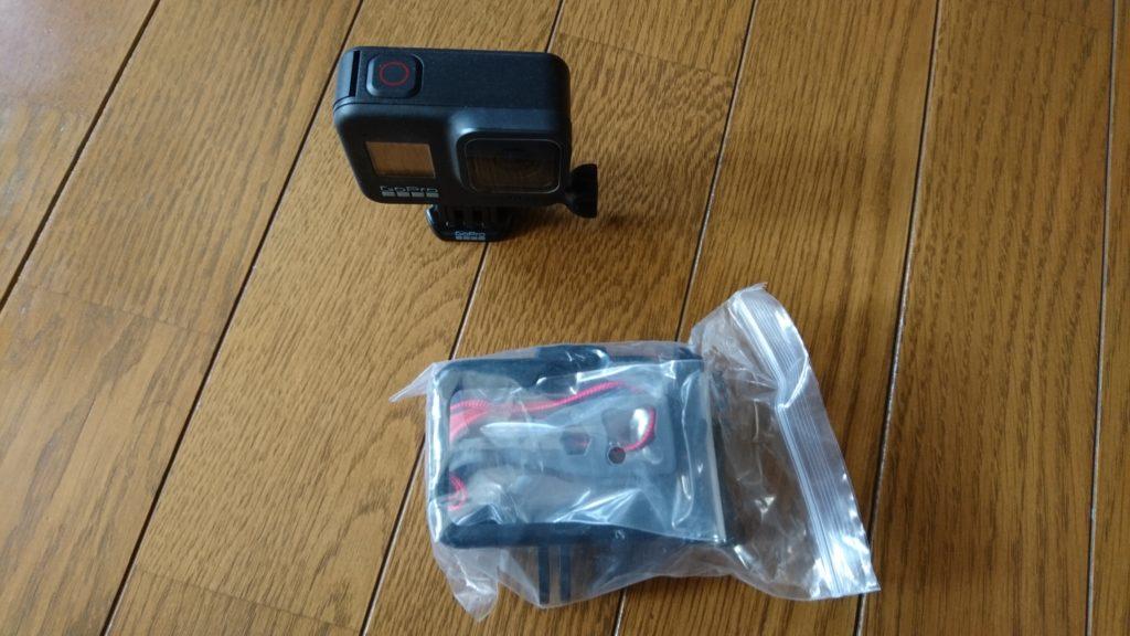 GoPro HERO8 Black (ゴープロ8)保護ケース 中身