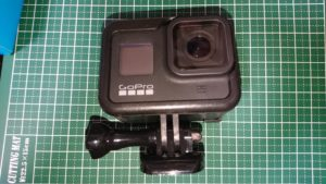 GoPro HERO8 Black (ゴープロ8)保護ケース 表パーツ