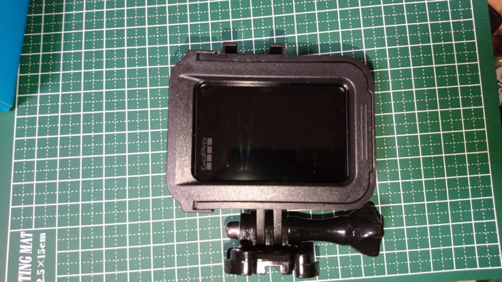GoPro HERO8 Black (ゴープロ8)保護ケース 装着完了