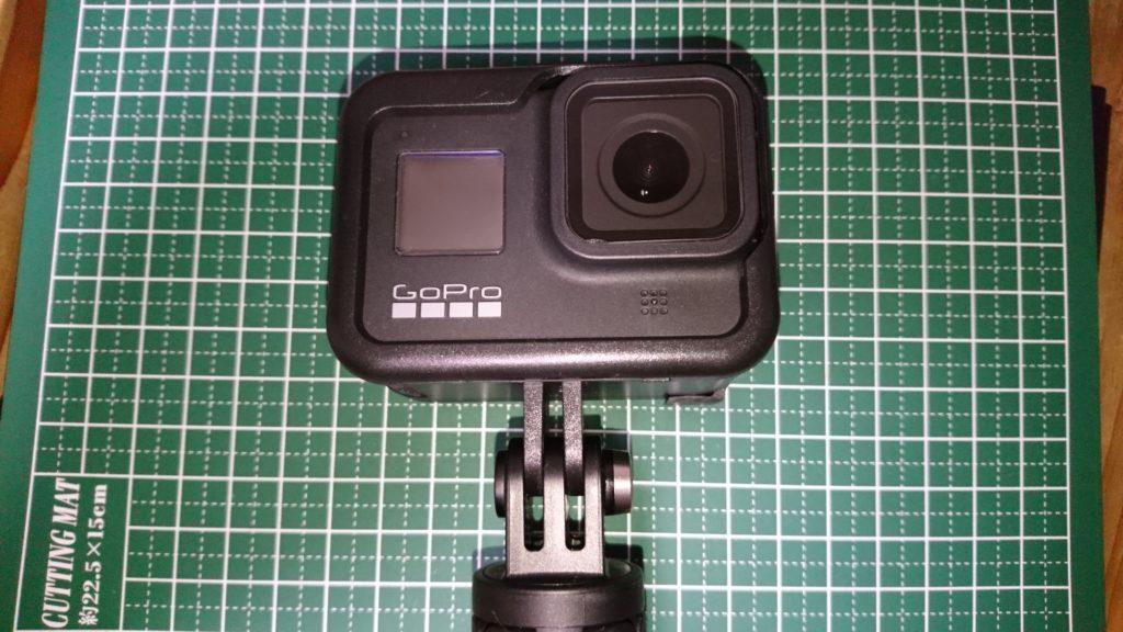 GoPro HERO8 Black (ゴープロ8)ショーティ 装着 固い
