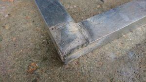DIY台車 溶接 角表