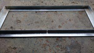 DIY台車 溶接 台座補強1