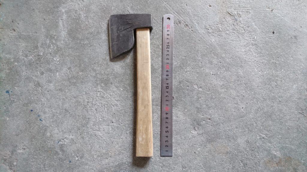 キャンプ用に古い斧 購入