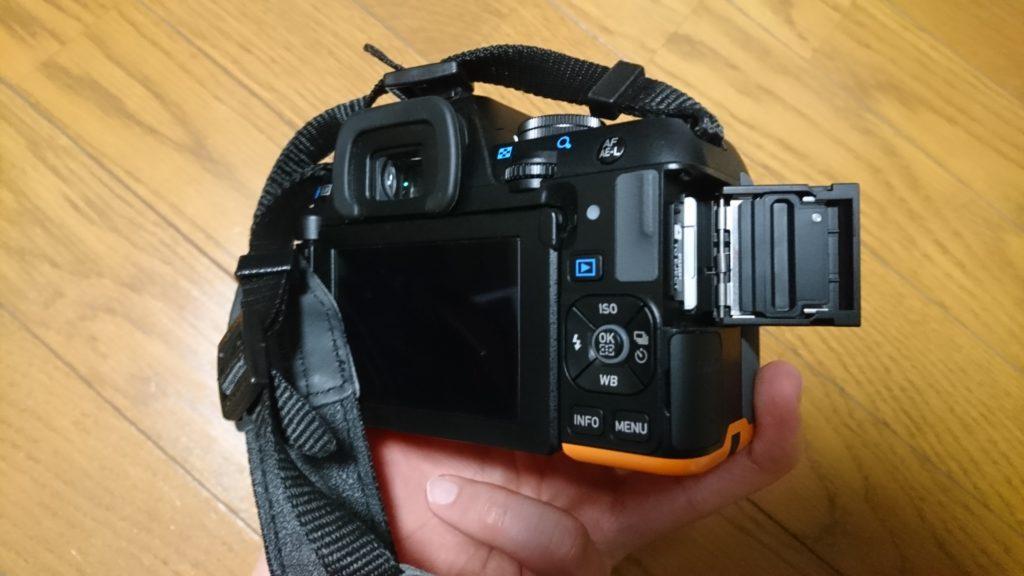 PENTAX(ペンタックス)K-S2 メモリーカード異常 異常SDカードフォーマット