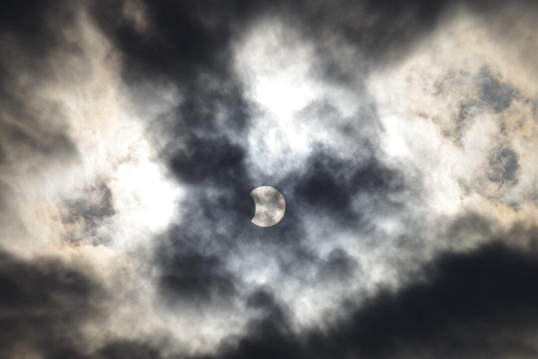 2020年6月21日(夏至)の部分日食撮影。写真3 個人的に『いいね!』
