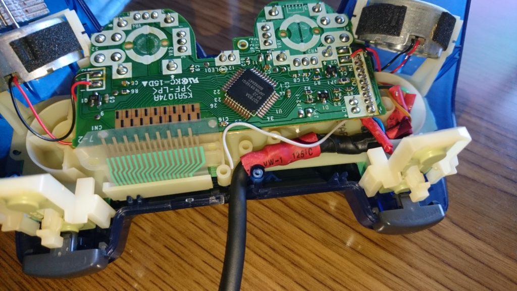 DUALSHOCK2 ケーブル断線を修理してみた。