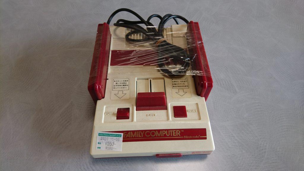 ジャンク品の初代ファミコンを購入!(テレビに繋ぐ方法も軽く説明)