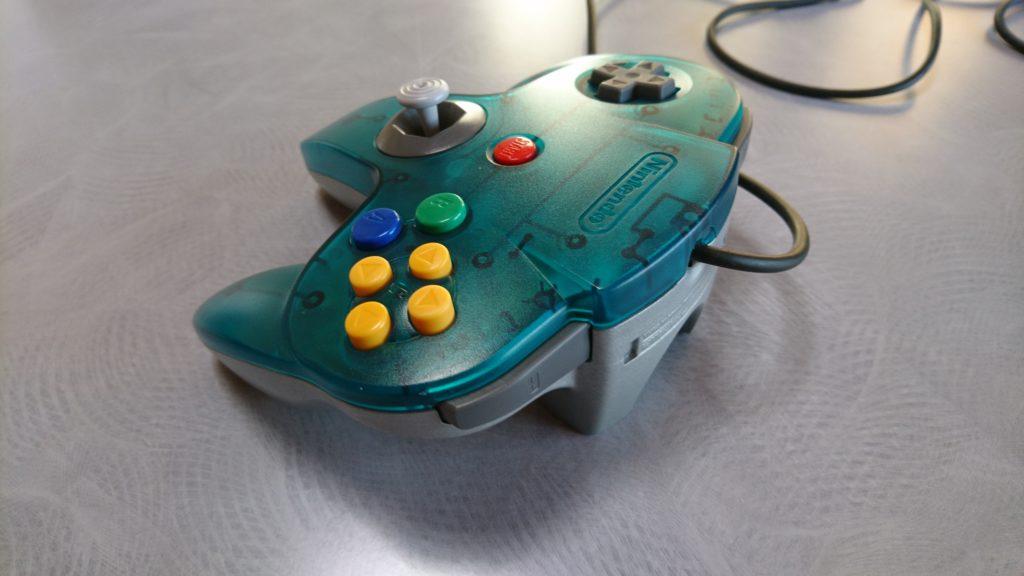N64コントローラー 修理完了