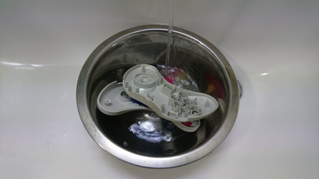 セガサターン コントローラーパーツ洗浄